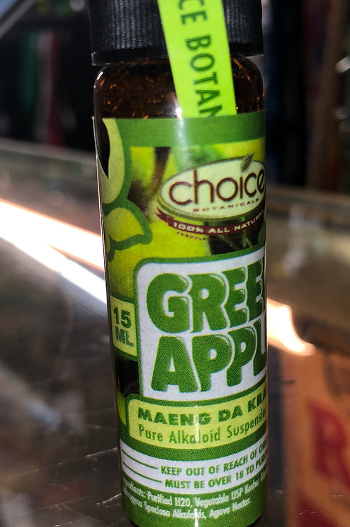 Choice Botanicals Green Apple Maeng Da Liquid Extract (15 ml)