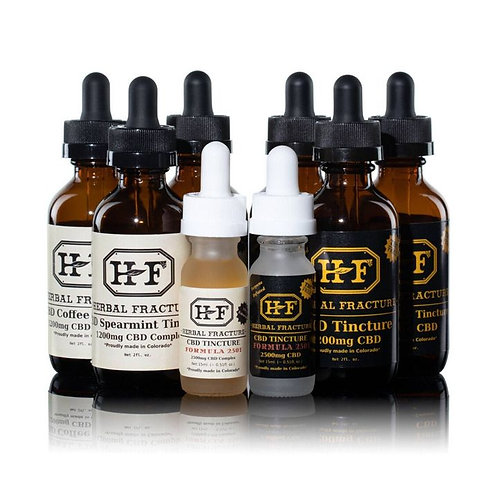 Herbal Fracture CBD Tincture (1200mg)