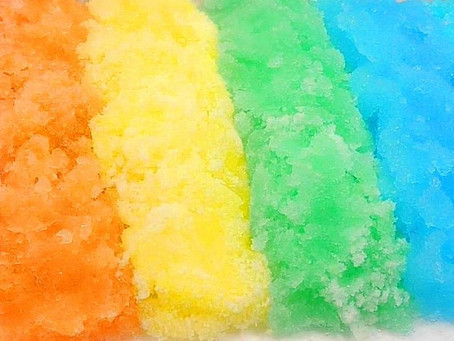 How To Make Colorful Instant Snow?