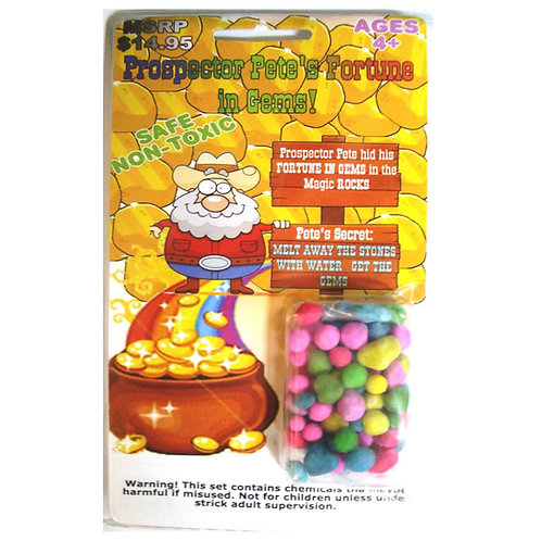 Prospector Pete's Fortune in Gems-5 pack