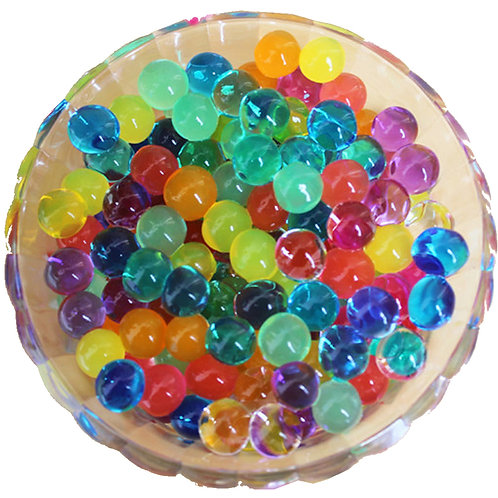 Rainbow Color Water Beads