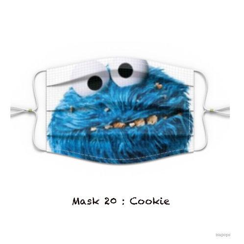 Mondmasker 20 Cookie