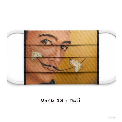 Mondmasker 13 Dali