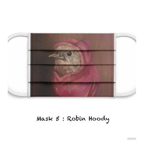 Mondmasker 5 Robin Hoody