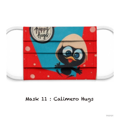 Mondmasker 11 Calimero Hugs