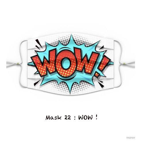 Mondmasker 22 WOW !