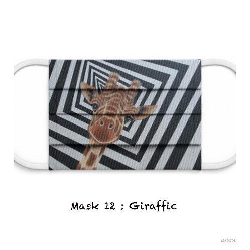 Mondmasker 12 Giraffic