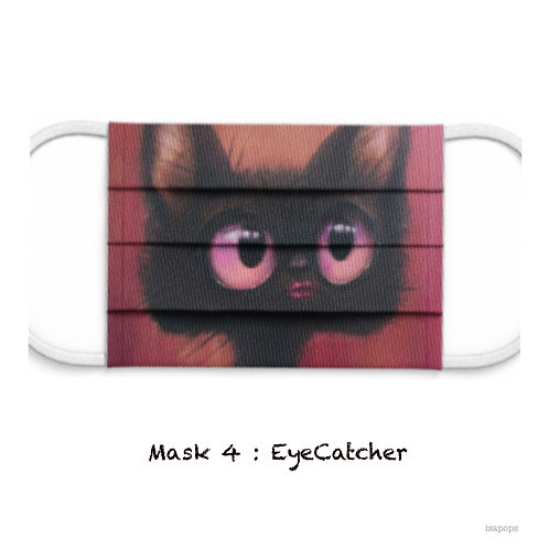 Mondmasker 4 Eye-Cat-cher