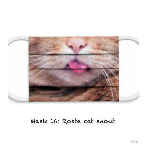 Mondmasker 16 Roste Cat Snout