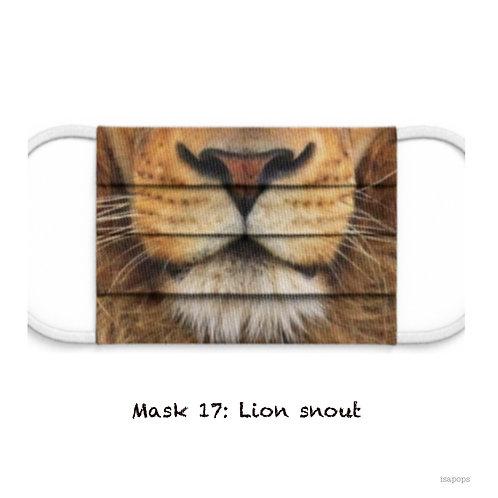 Mondmasker 17 Lion Snout