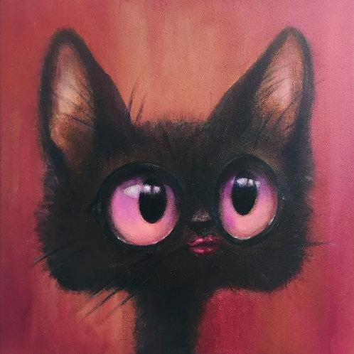 Postkaart Eye-Cat-cher
