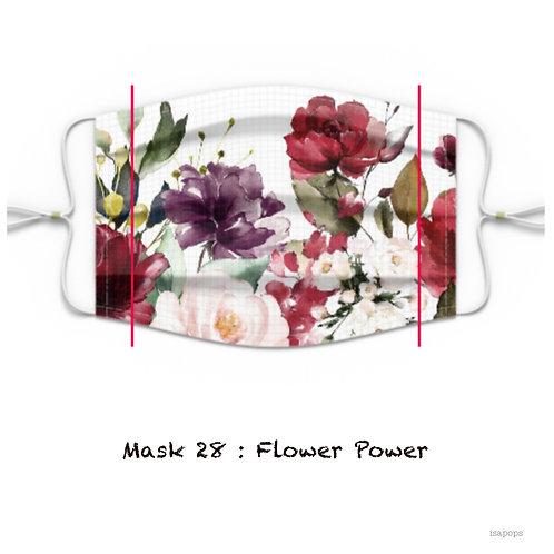 Mondmasker 28 FlowerPower