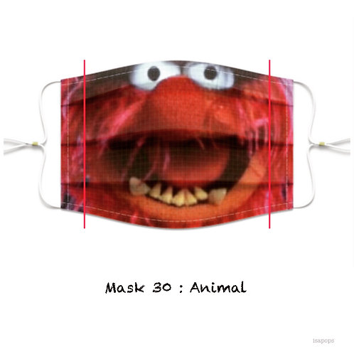 Mondmasker 30 Animal