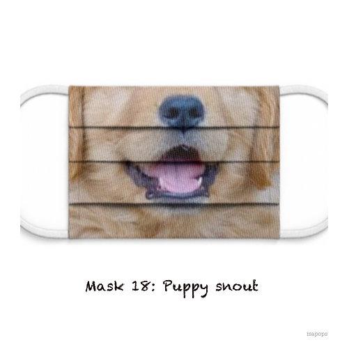Mondmasker 18 Puppy Snout