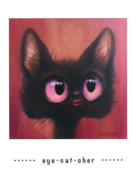 poster white eyecatcher