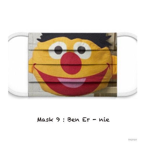 Mondmasker 9 Ben Er-nie