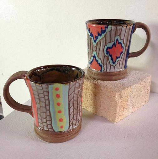 Mug pair, 2015