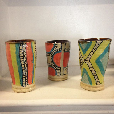 Collection of tumblers, 2015
