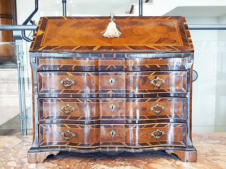 LQA009 - Bureau antiquariato veneziano antico  originale 1700