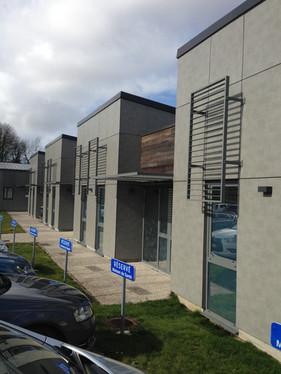 Maison de santé Poix de Picardie : Parki