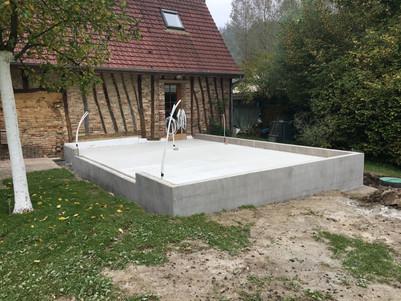 Extension : fondation
