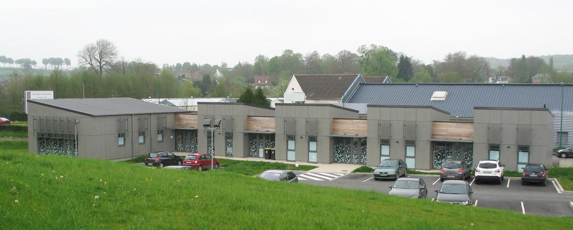 Maison de santé Poix de Picardie : Grand angle