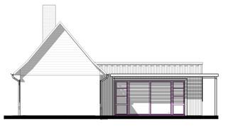 Plan façade ouest futur extension