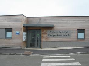 Maison de santé Poix de Picardie : Rue