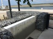 Base nautique - Saint-Valéry-sur-Somme : Mur de pierre