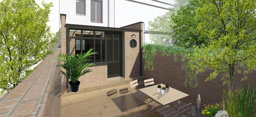 Extension - perspective jardin cour_edit