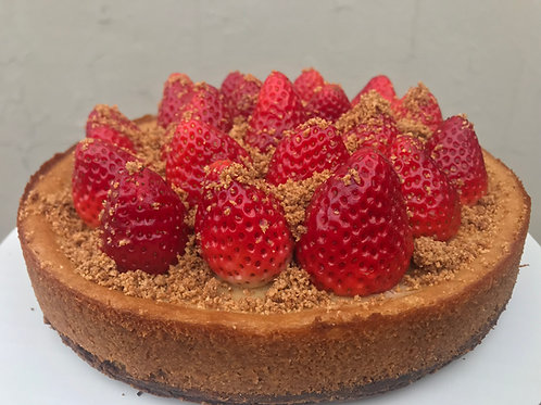 Gluten Free Strawberry Cheesecake
