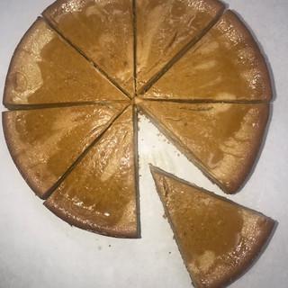 Sweet Potato Swirl Cheesecake