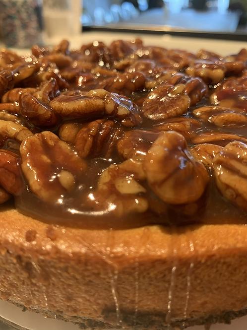 Gluten Free Pecan Pie Cheesecake