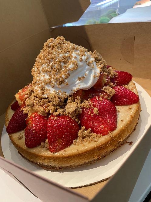 Full size Strawberry Celebration Cheesecake