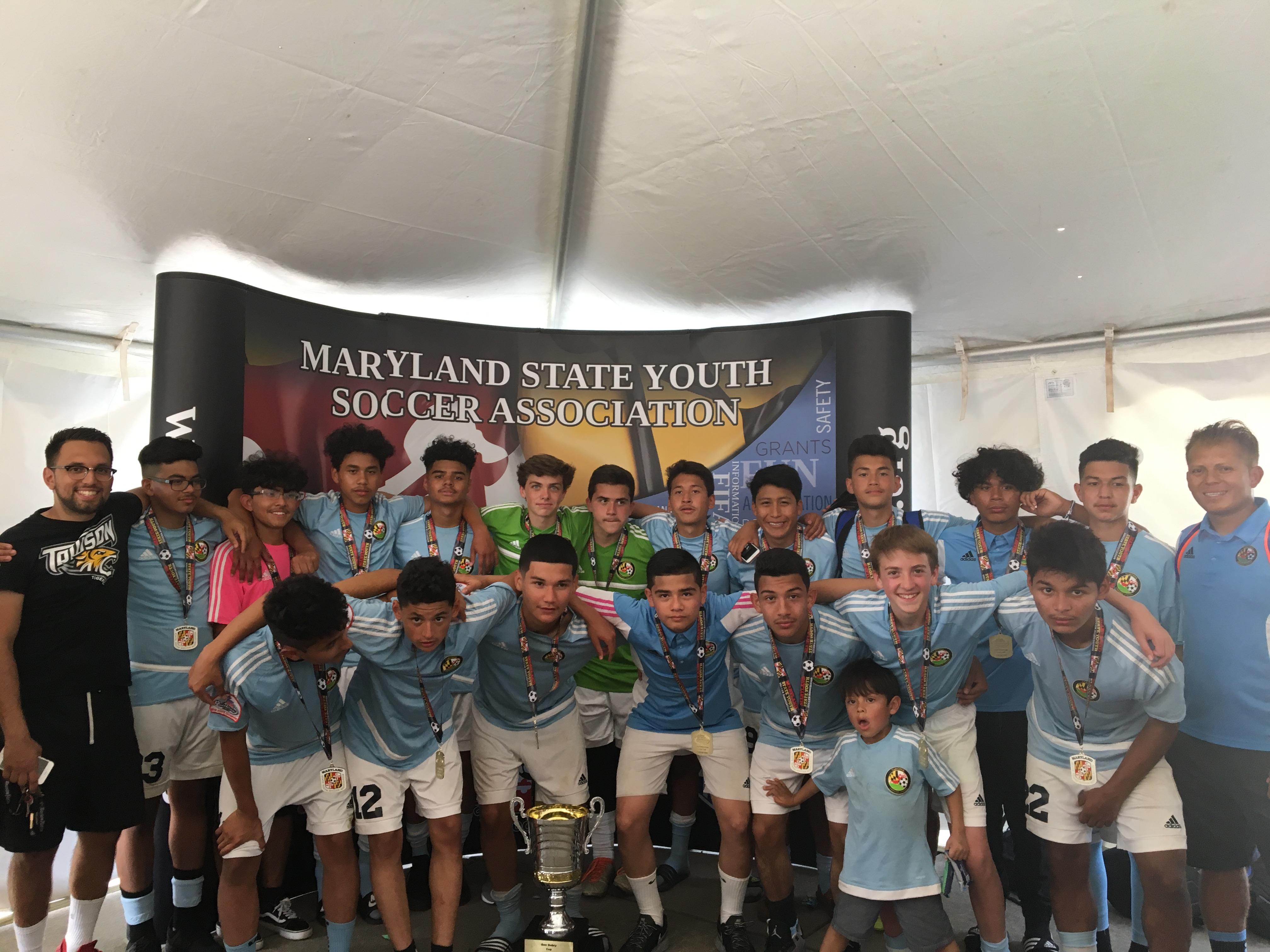 2017 U15 MD State Champions