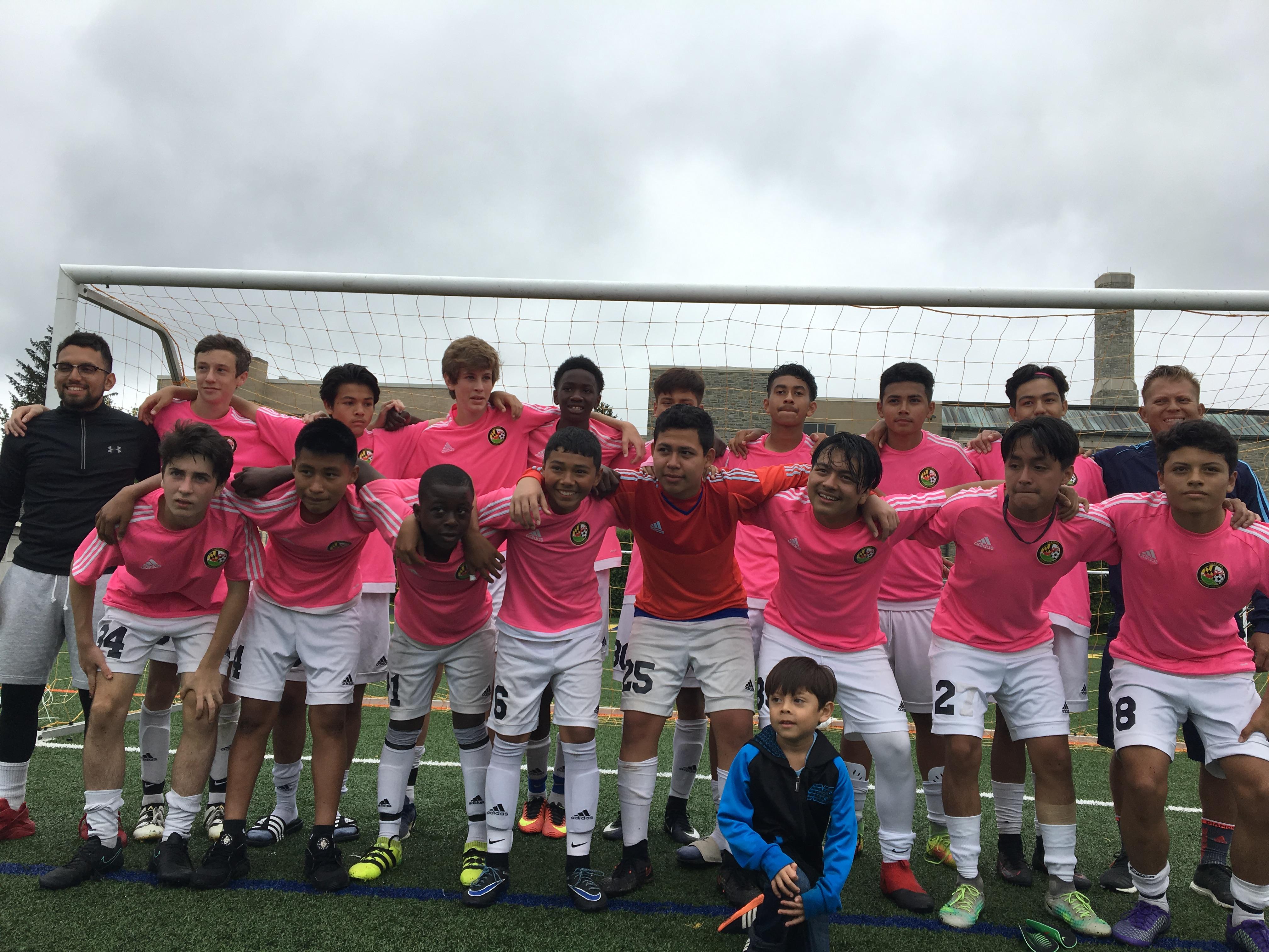 U14 FC Delco Campions (2017)