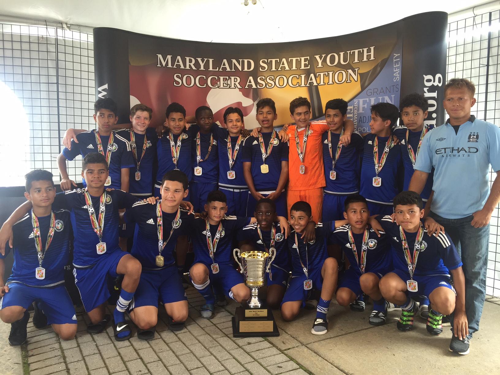 2016 U13 State Cup Champions