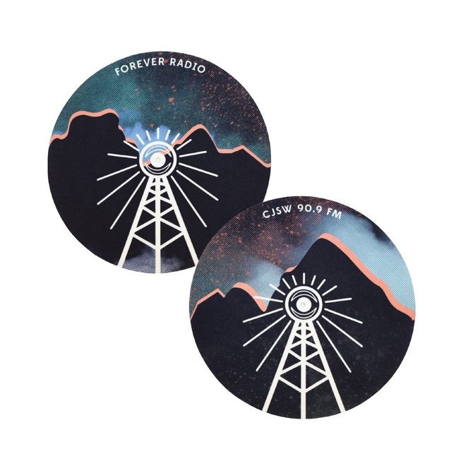 CJSW Record Slipmat Designs