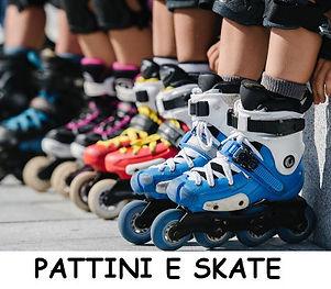 Pattini e skateboard