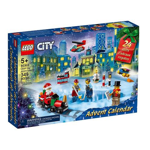 60303 CALENDARIO DELL'AVVENTO LEGO CITY