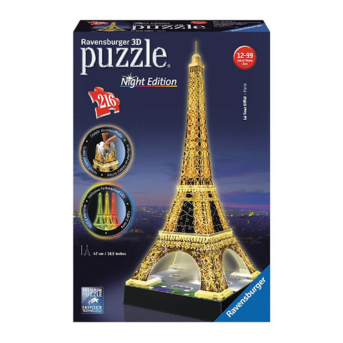 PUZZLE 3D TOUR EIFFEL NIGHT EDITION