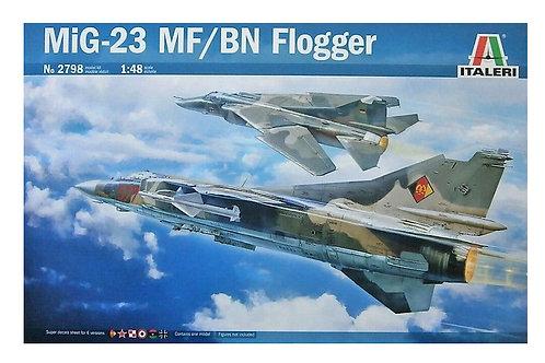 2798 - MIG-23 MF/BN FLOGGER 1:48