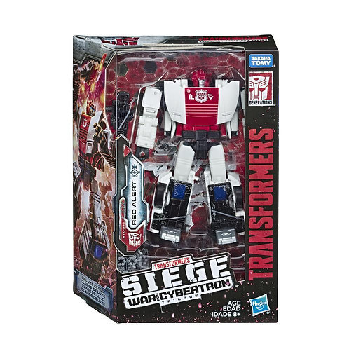 WAR FOR CYBERTRON DELUXE RED ALERT