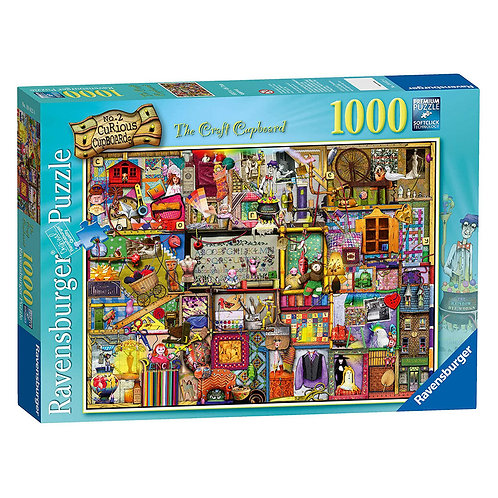 PUZZLE 1000 PEZZI THE CRAFT CUPBOARD 19412
