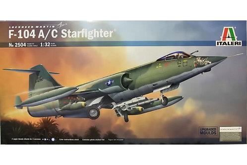 2504 - F104 A/C STARFIGHTER 1:32