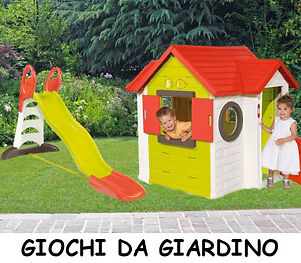 Giochi da giardino
