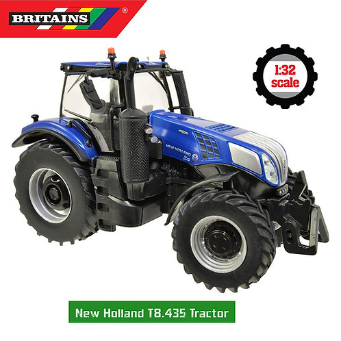 1:32 TRATTORE NEW HOLLAND T8.435 BRITAINS