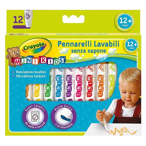 12 PENNARELLI MINI KIDS LAVABILI 8325
