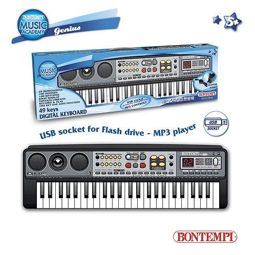 154900 TASTIERA DIGITALE 49 TASTI CON USB