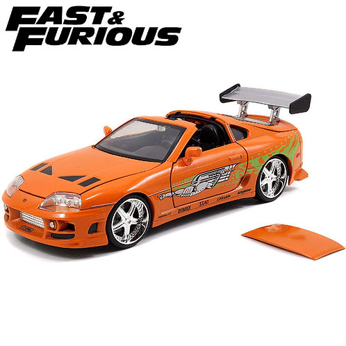 1:24 BRIAN'S TOYOTA SUPRA FAST AND FURIOUS